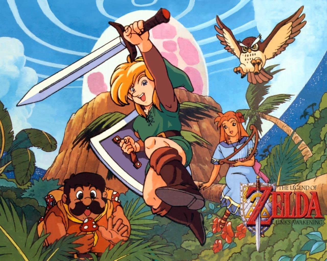 Wallpapers - Ocarina of Time, Link's Awakening, A Link to ...