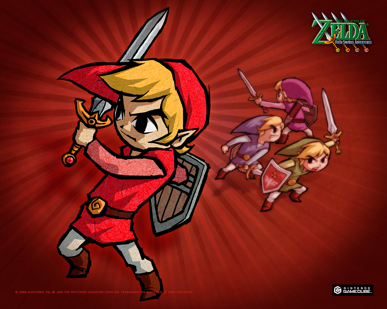 wallpapers - phantom hourglass, the minish cap and four swords