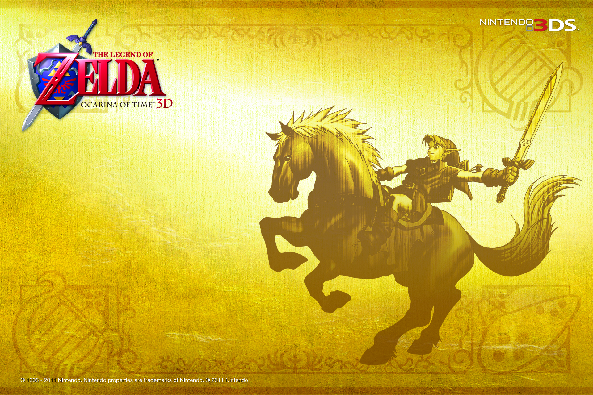 Wallpapers Ocarina Of Time Link S Awakening A Link To