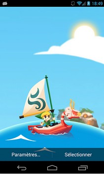 application pour Android The Wind Waker