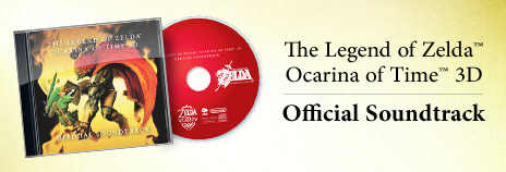 CD musical Ocarina of Time 3D