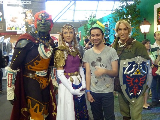 cosplayers officiels