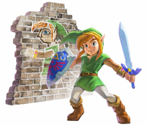 Link dans A Link Between Worlds