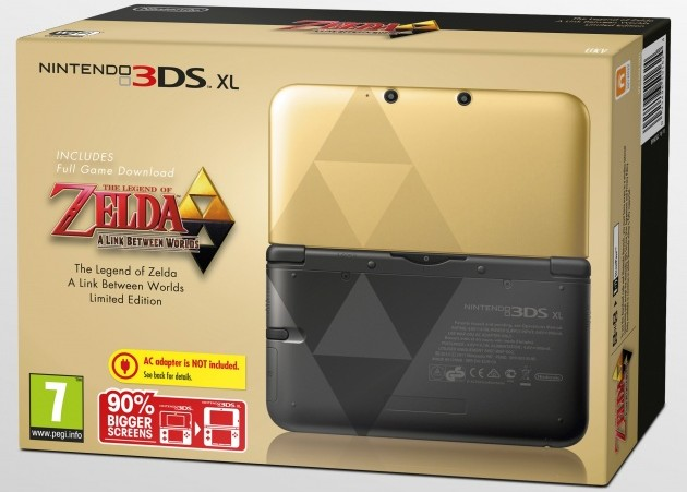 console 3DS A Link Between Worlds