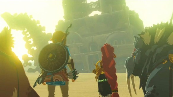 Breath of the Wild: Quatre donjons amovibles