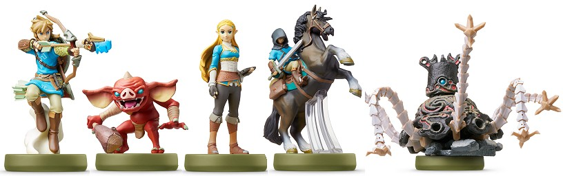 amiibos Zelda Breath of the Wild