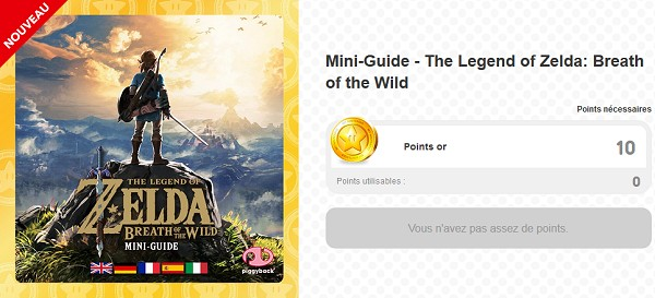 Mini-guide Breath of the Wild