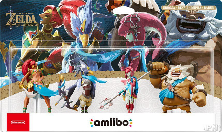 amiibo prodiges Breath of the Wild