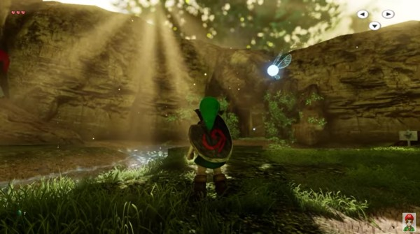 Ocarina of Time sous Unreal Engine 4