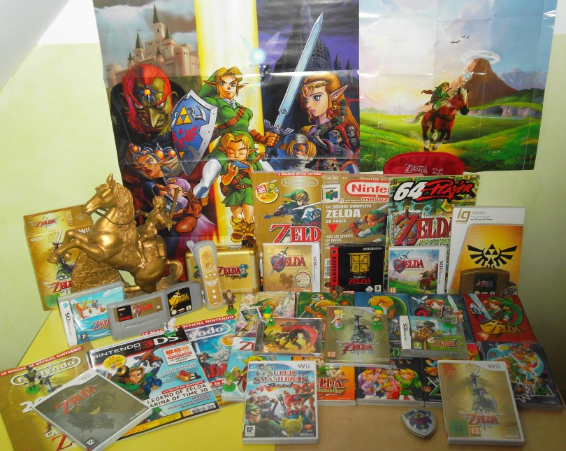 collection de 2 fans de zelda