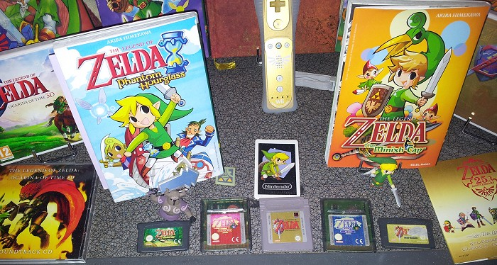 collection d'un fan de zelda