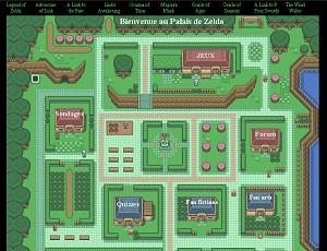 Première version du Palais de Zelda