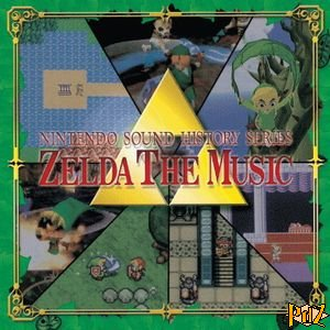 cd Zelda The Music