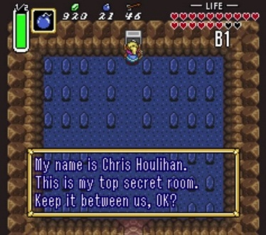 A Link to the Past Chris Houlihan