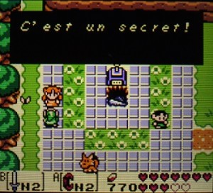 Link's Awakening DX secret