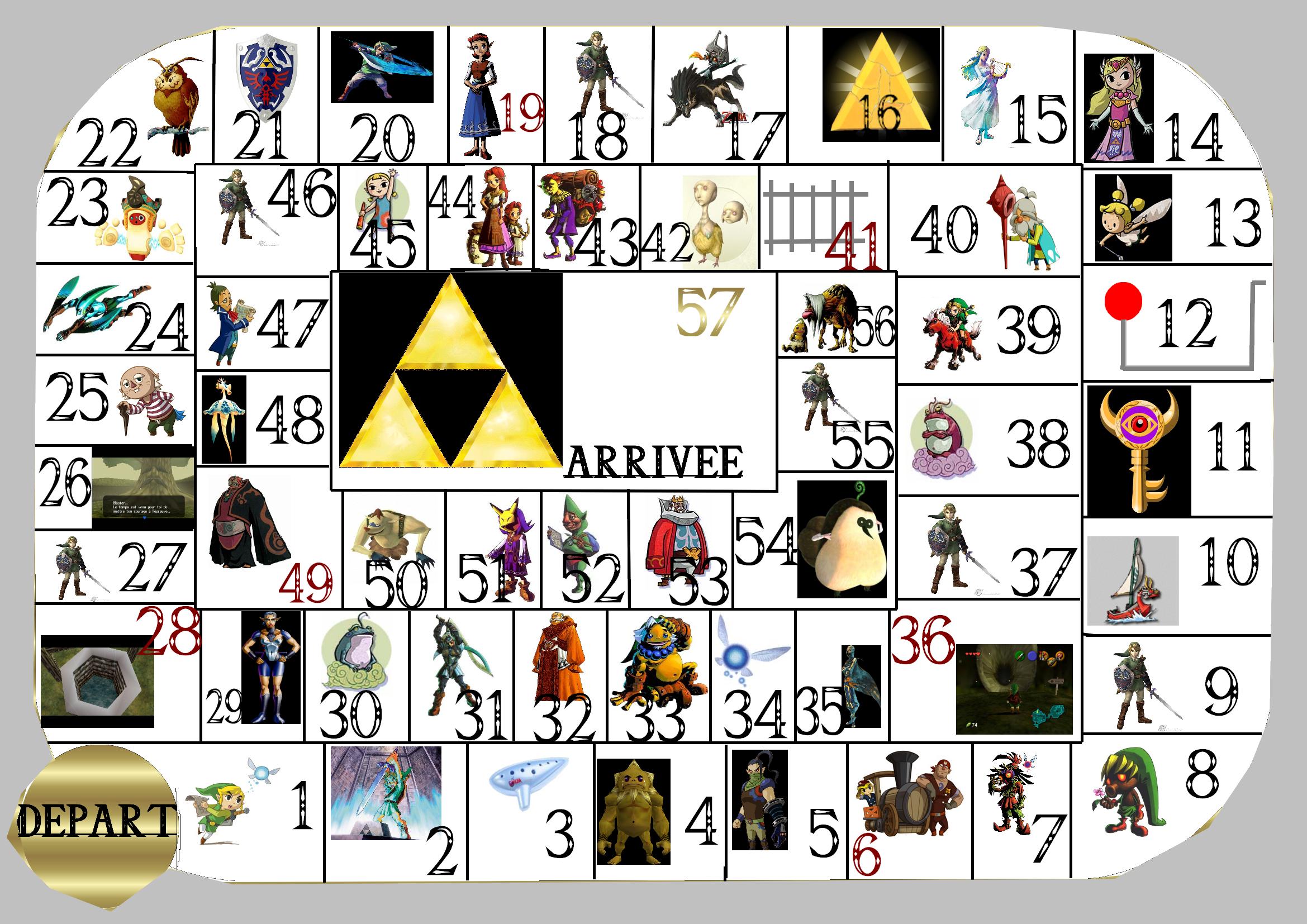 Jeux Papier Le Palais De Zelda
