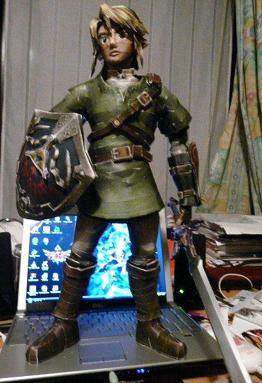papercraft Link de Twilight Princess