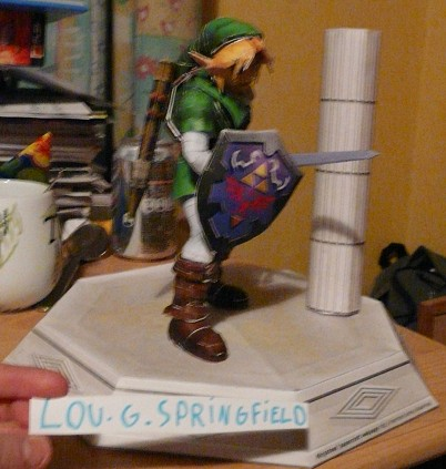 papercraft Link adulte