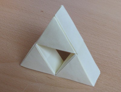 Triforce en origami