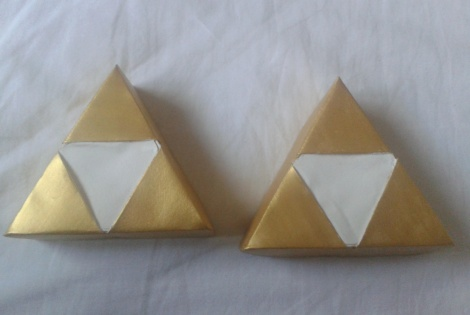 papercraft bo�tes Triforce