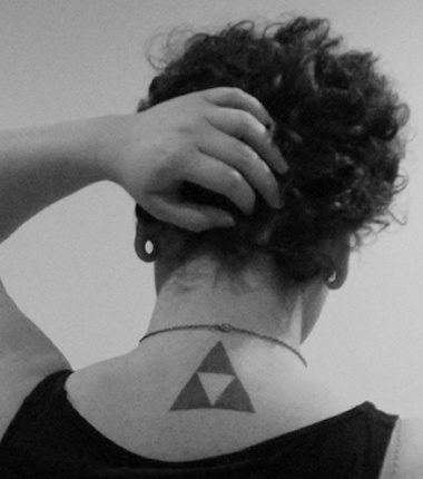 tatouage Triforce