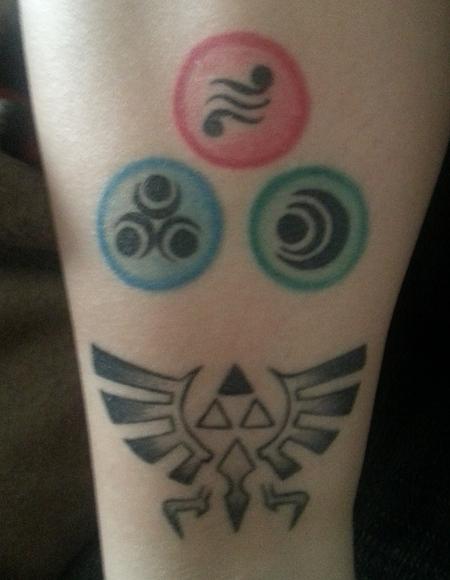 Tatouages Des Fans De Zelda Le Palais De Zelda