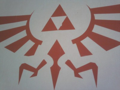 sticker Triforce