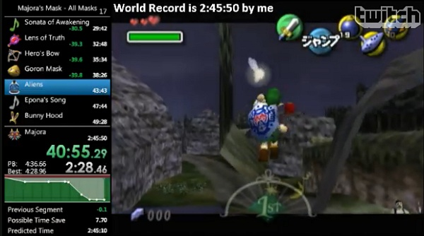 Speedrun : record 24 masques