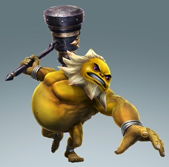 Darunia dans Hyrule Warriors
