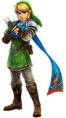 Link dans Hyrule Warriors