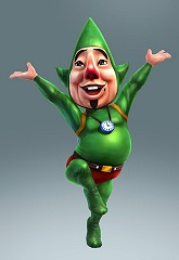 Tingle dans Hyrule Warriors