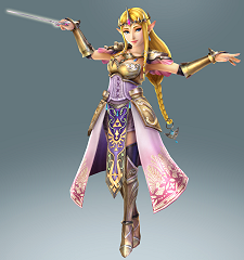 Zelda dans Hyrule Warriors