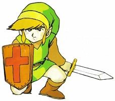 Link The Legend of Zelda nes