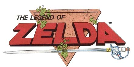 logo Legend of Zelda nes