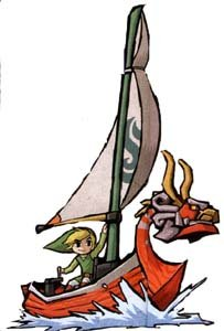 Link dans The Wind Waker