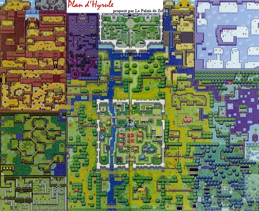 Plan de The Minish Cap