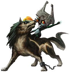 Link et Midona Twilight Princess