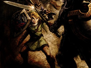 Link combat dans Twilight Princess
