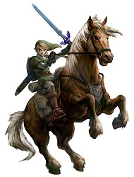 Link et Epona Twilight Princess