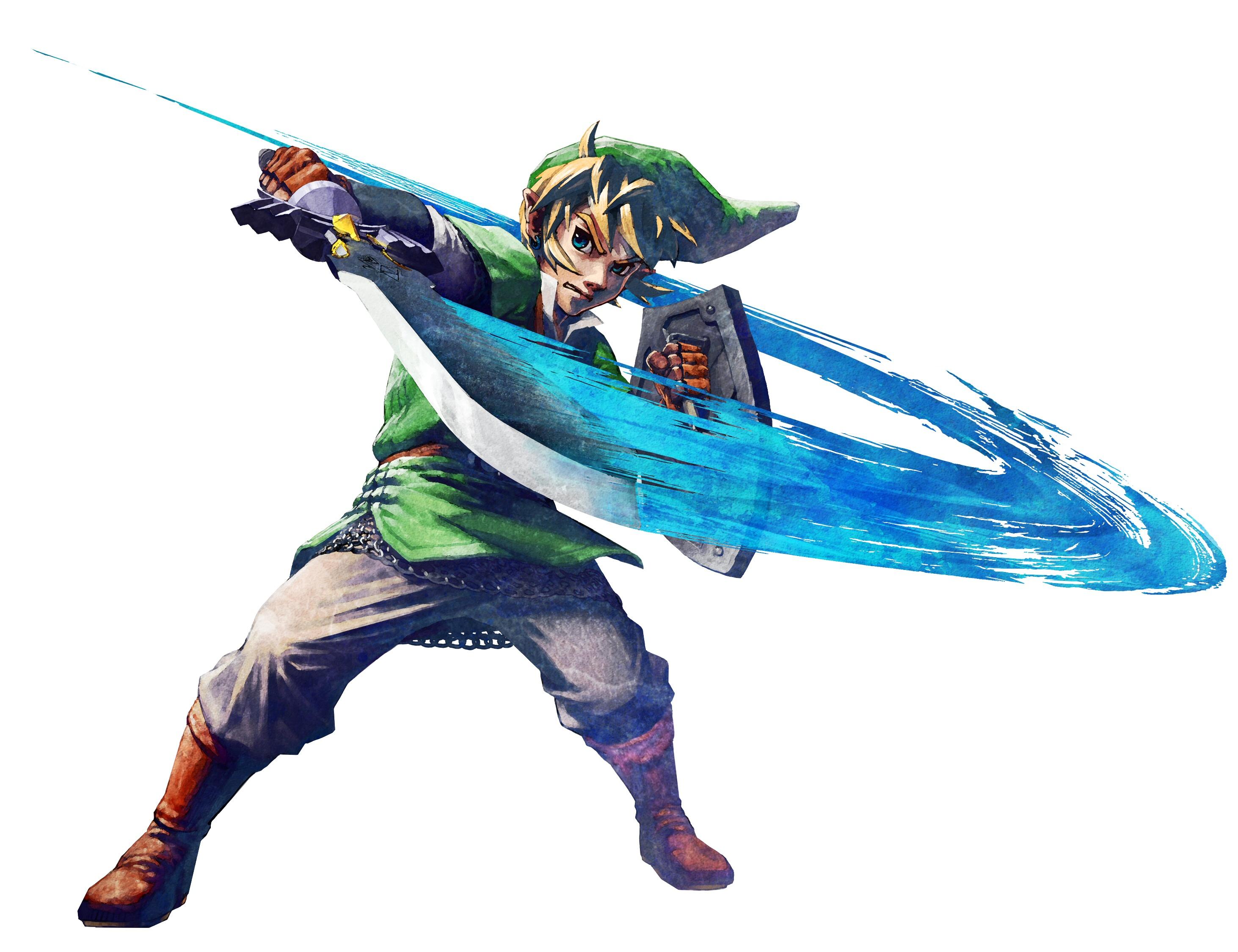 Images de skyward sword link le palais de zelda - Link dans zelda ...