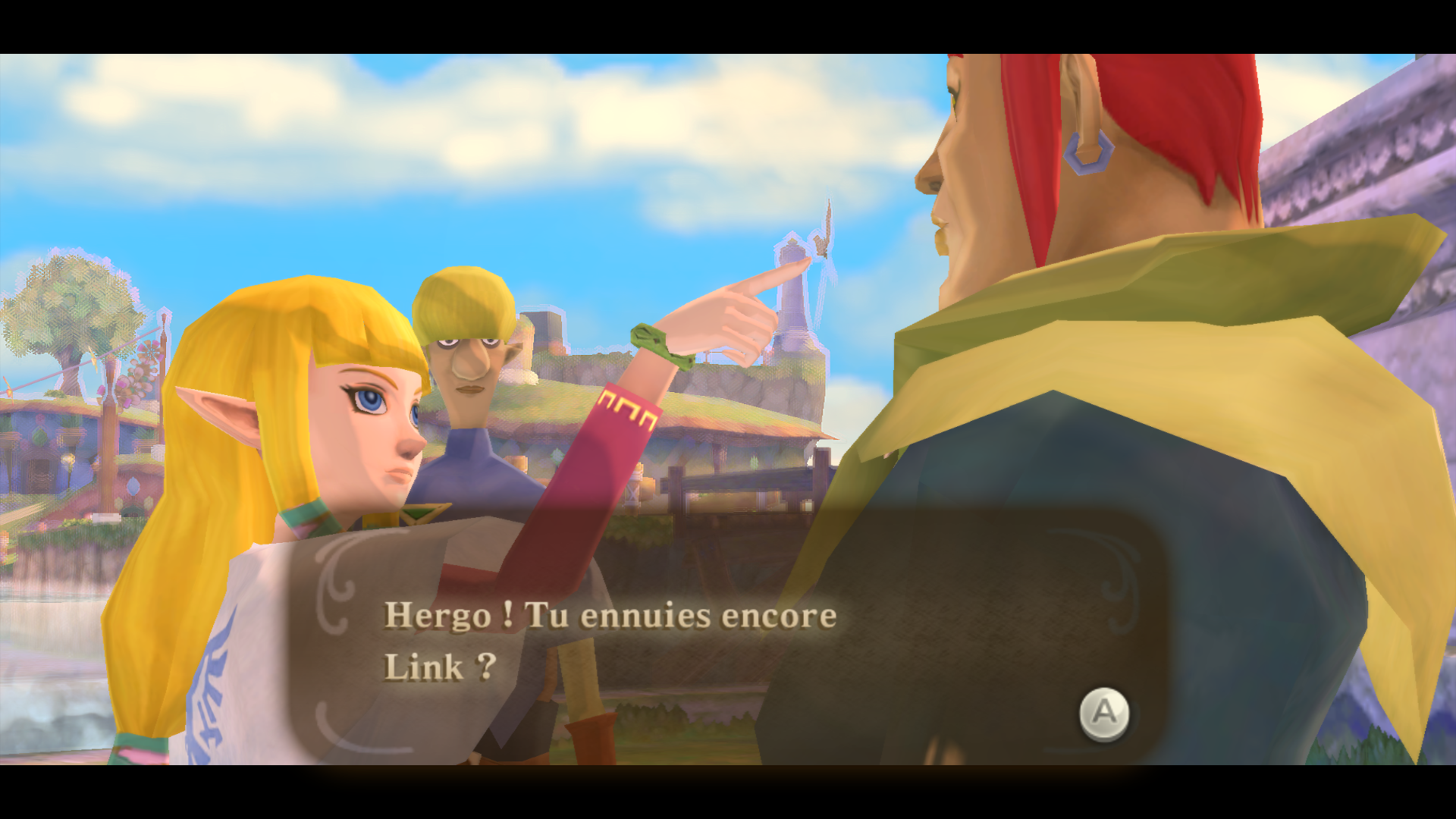Solution de skyward sword a la recherche du c lestrier for Skyward laporte