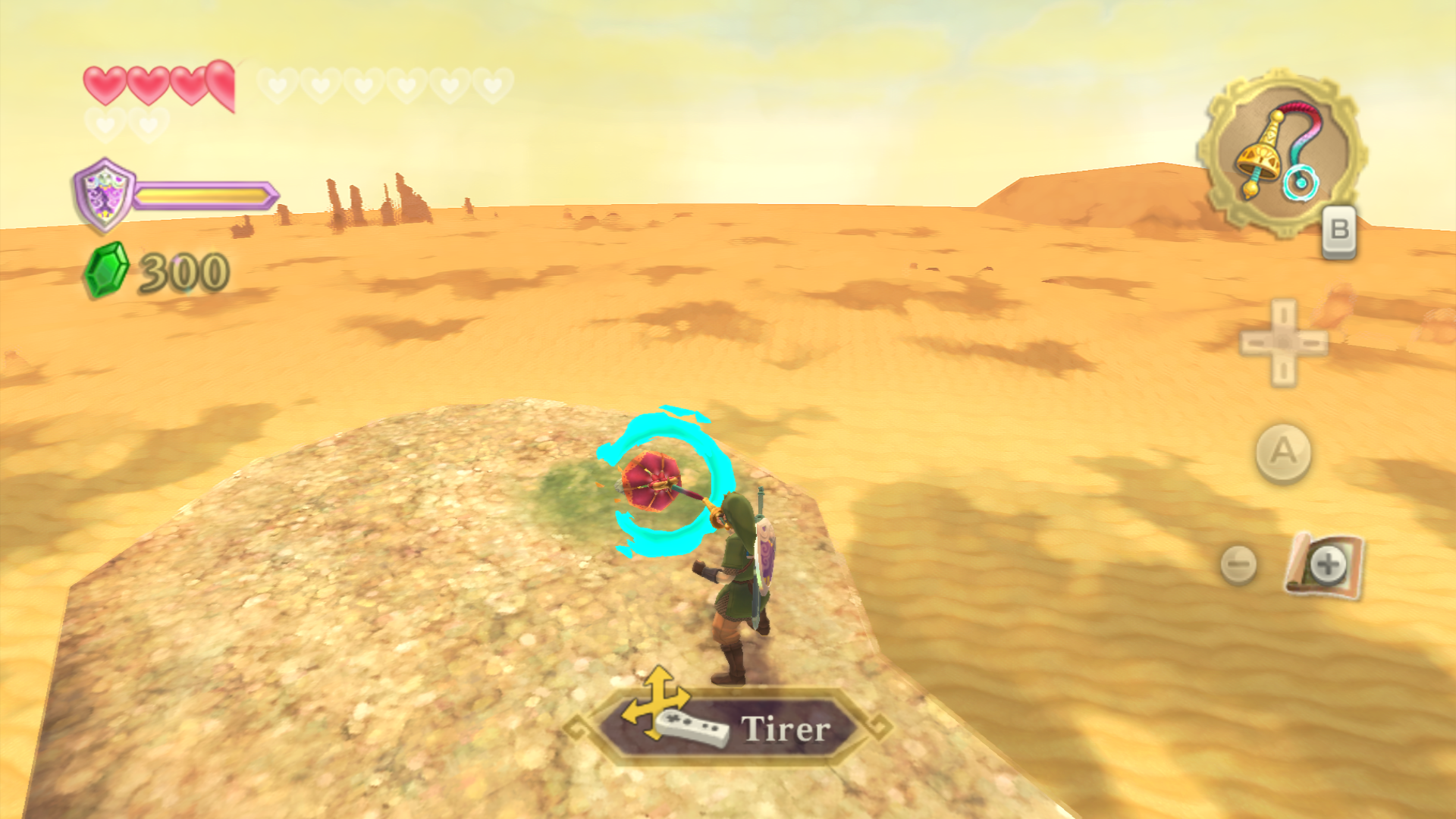 solution de skyward sword maison du capitaine chantier