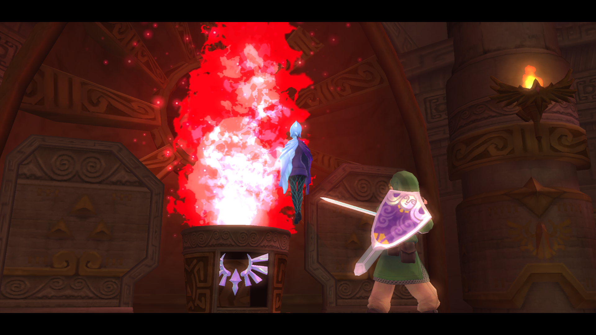 Solution de skyward sword grand sanctuaire ancien le for Skyward laporte