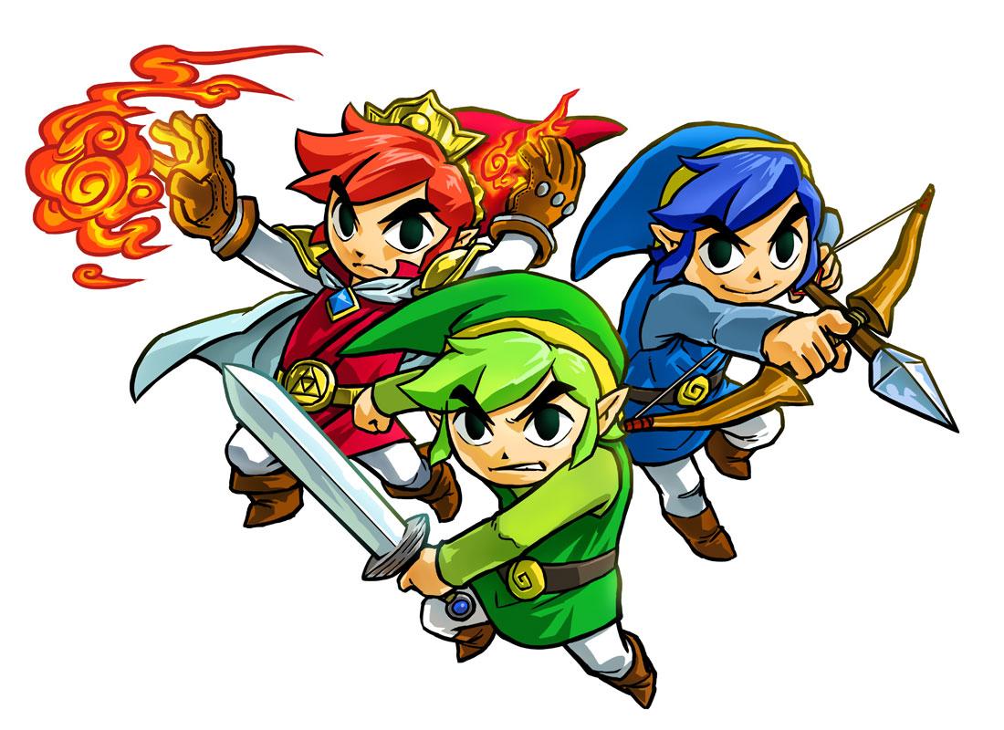 Images Artworks De Tri Force Heroes Le Palais Zelda