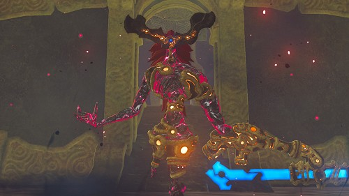 Ombre d'Eau de Ganon dans Breath of the Wild