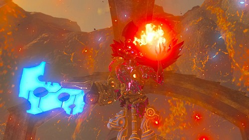 Ombre de Feu de Ganon dans Breath of the Wild
