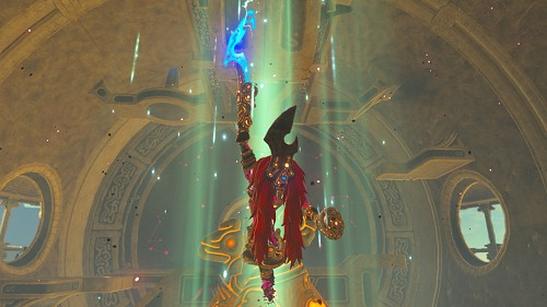 Ombre de Foudre de Ganon dans Breath of the Wild