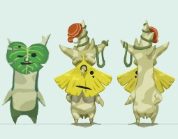 Les Korogus dans Breath of the Wild