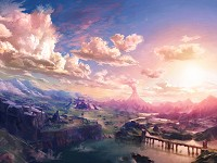 paysage Breath of the Wild