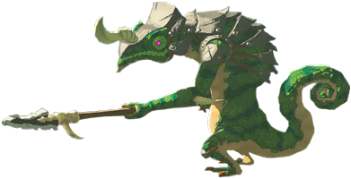 Lizalfos Breath of the Wild
